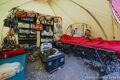 """Wyposażenie namiotu ekipy """"Bezpieczny Kazbek"""""""