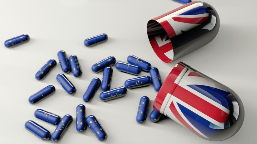Brexit, leki, zapasy leków firm farmaceutycznych, Wielka Brytania, UE