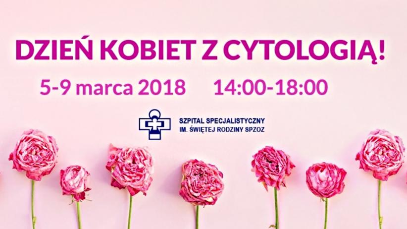 Dzień Kobiet z Cytologią: gdzie wykonać bezpłatne badania