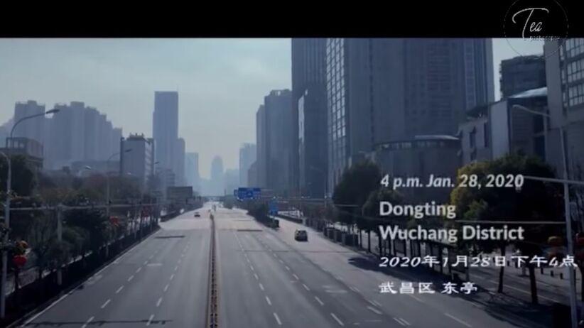 Filmowcy utknęli w Wuhan. Nakręcili krótkometrażowy film [Zobacz]