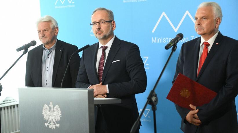Andrzej Horban, Adam Niedzielski, Waldemar Kraska