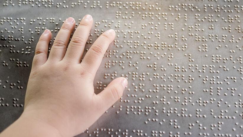 LEGO do nauki Braille