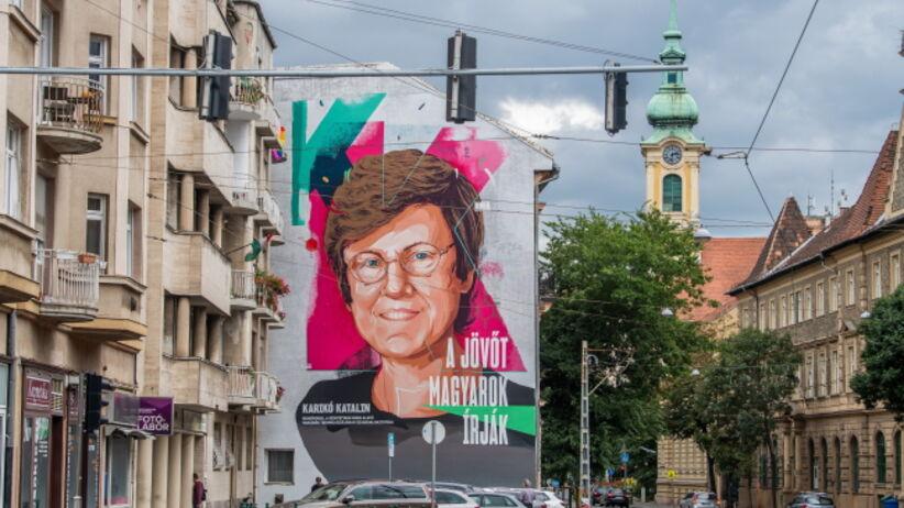 Mural dla węgierskiej biochemiczki