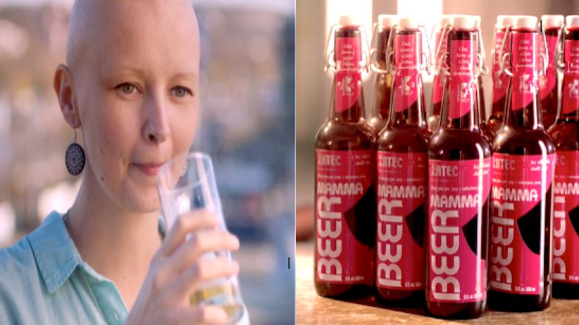 Piwo po chemioterapii, Mamma Beer, Mamma Help, czeskie piwo, rak, nowotwór, rak piersi