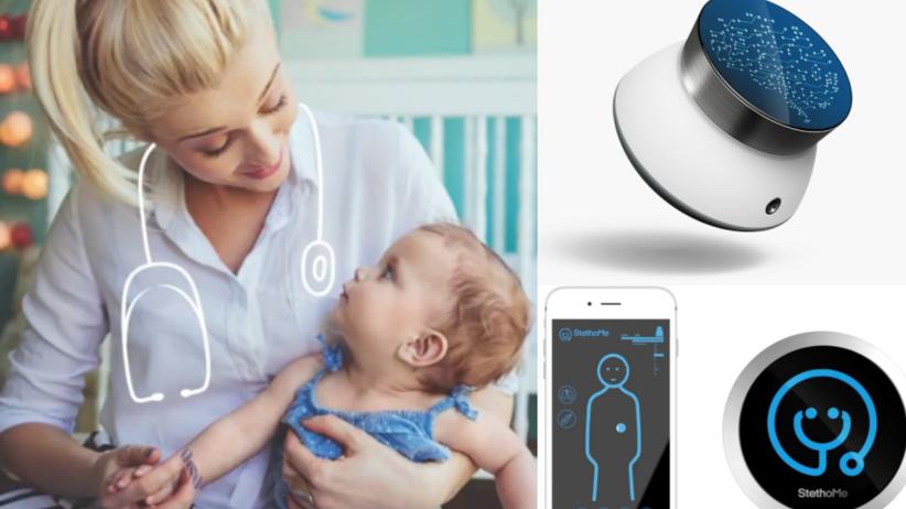 StethoMe, czyli elektroniczny stetoskop pozwala na samodzielne badanie dziecka w domu.