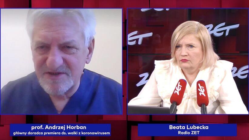 Prof. Andrzej Horban w Radiu ZET