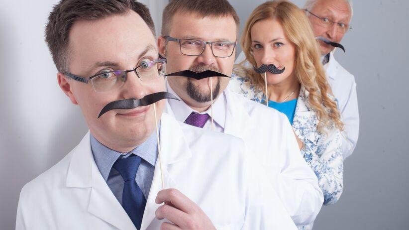 Zapuść wąsy w listopadzie i sprawdź, jak wykryć raka jąder