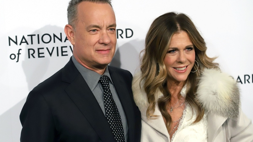 Tom Hanks oraz jego żona – Rita Wilson