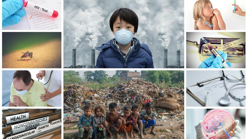 10 największych zagrożeń zdrowotnych wg. WHO