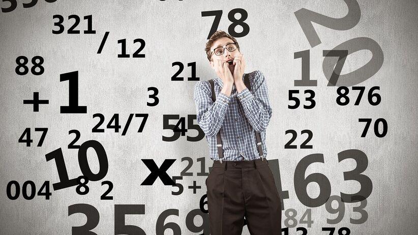 Strach przed liczbami - fobia liczb