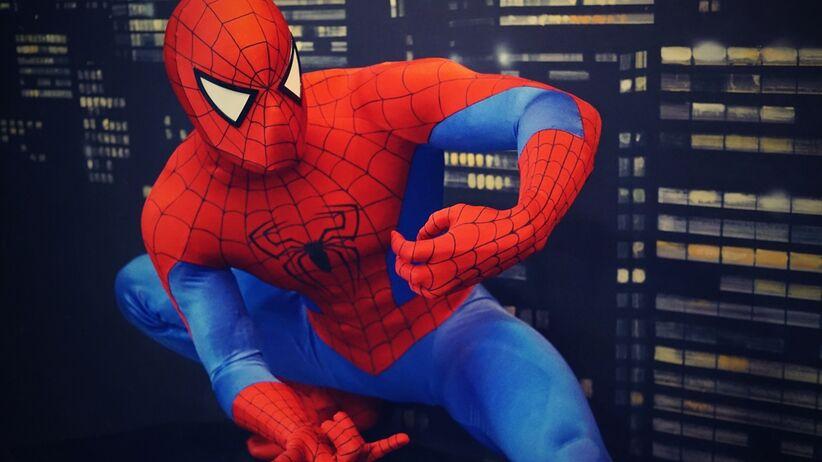 Spiderman pomaga walczyć z arachnofobią