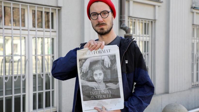Fotograf Tomasz Kaczor z okładką Dużego Formatu