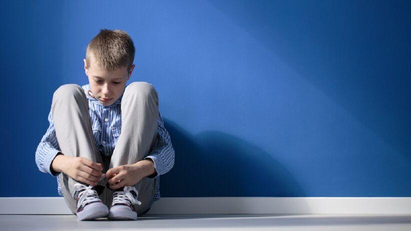 Dziecko z objawem socjofobii