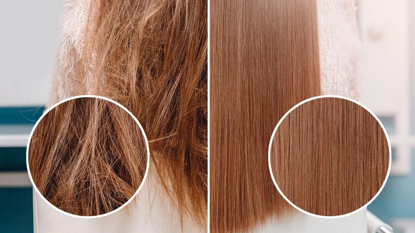 wypadanie włosów po prostowaniu keratynowym