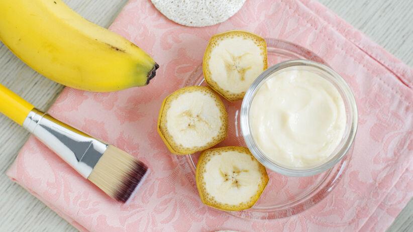 Domowa maseczka z banana na twarz