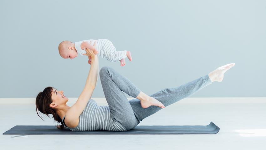 Ćwiczenia po ciąży można zacząć po okresie połogu