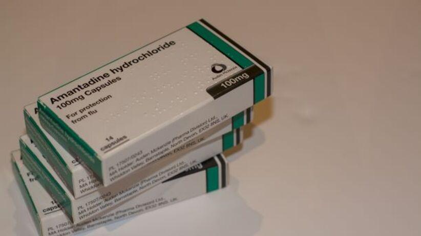 Amantadyna na grypę, Parkinsona