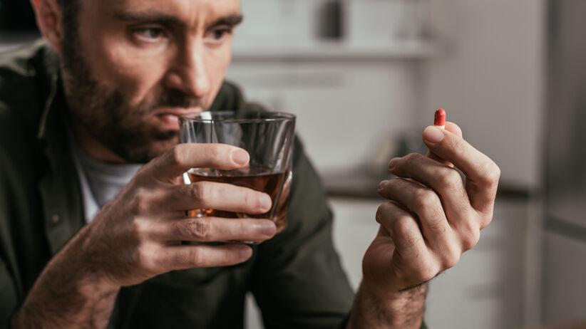 Leki na depresję i alkohol