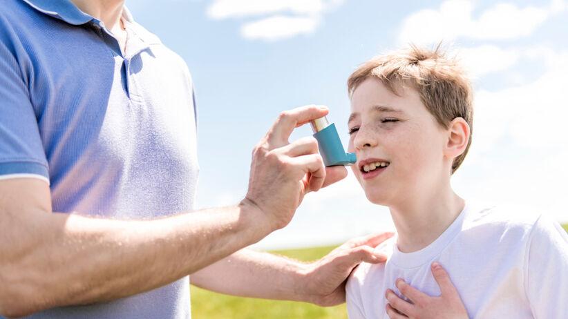 Lek na astmę oskrzelową