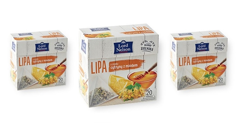 Lord Nelson herbatka ziołowa w piramidkach sort. lipa 30 g