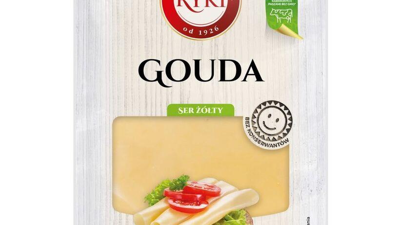 Ser żółty Gouda Ryki w plastrach wycofany przez GIS