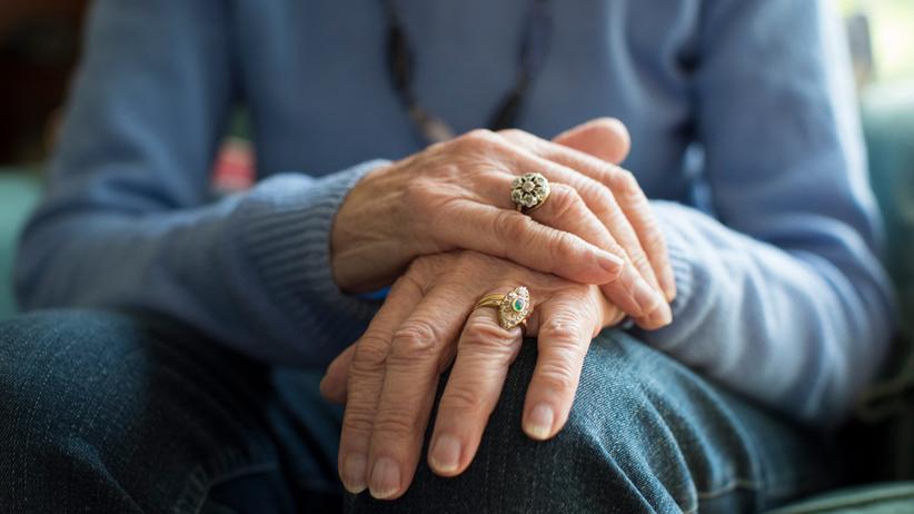 Ręcę u chorego na Parkinsona