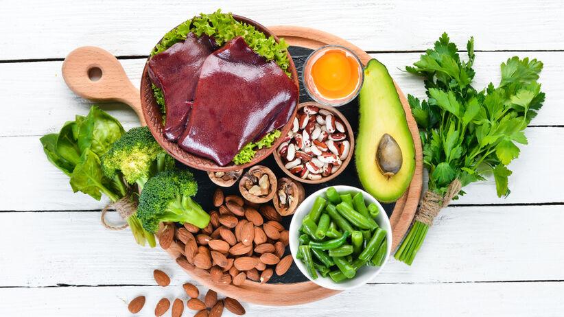 Dieta na anemię z niedoboru żelaza