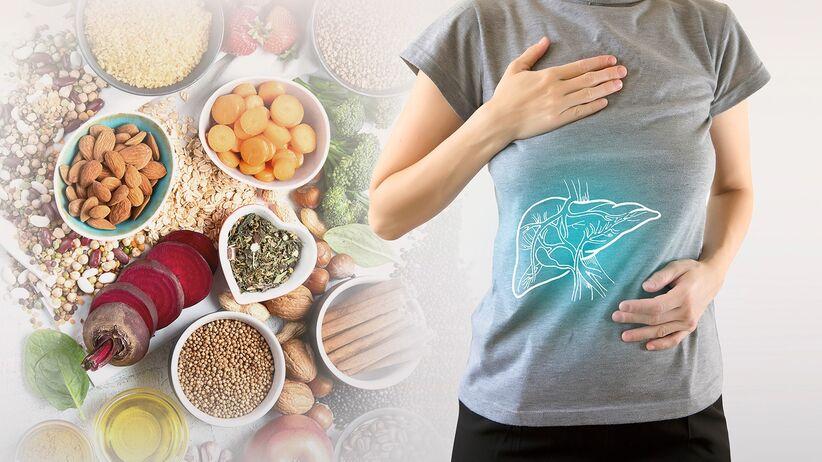 Chora wątroba - jaka dieta?