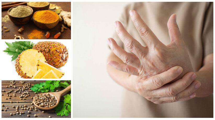 Zapalenie stawów – co jeść, by złagodzić ból? 9 ważnych produktów