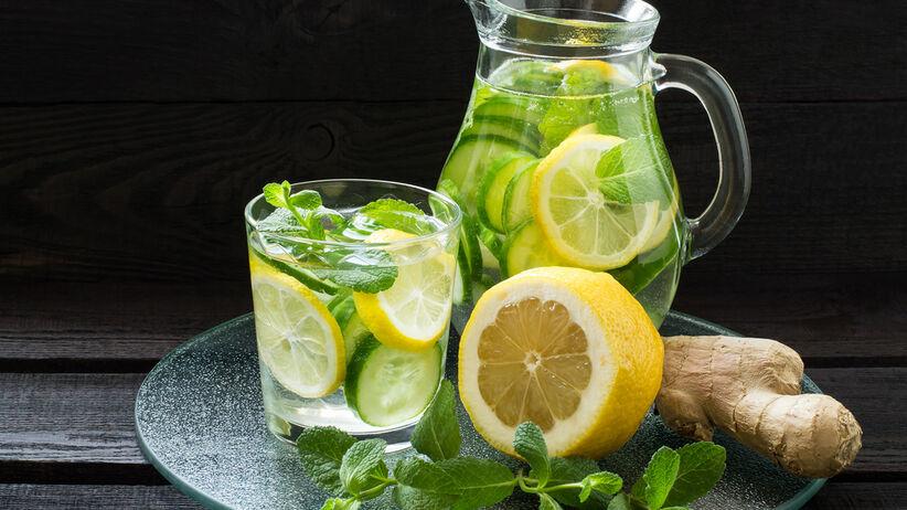 Sassy water: przepis
