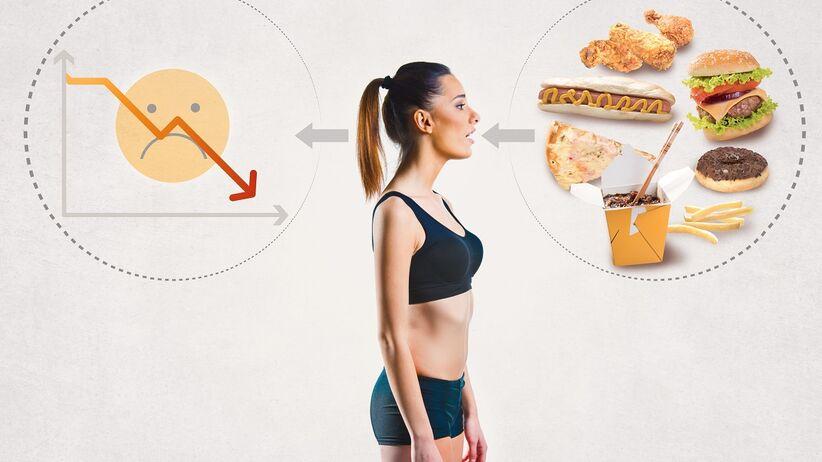 Negatywne skutki modnych diet odchudzających