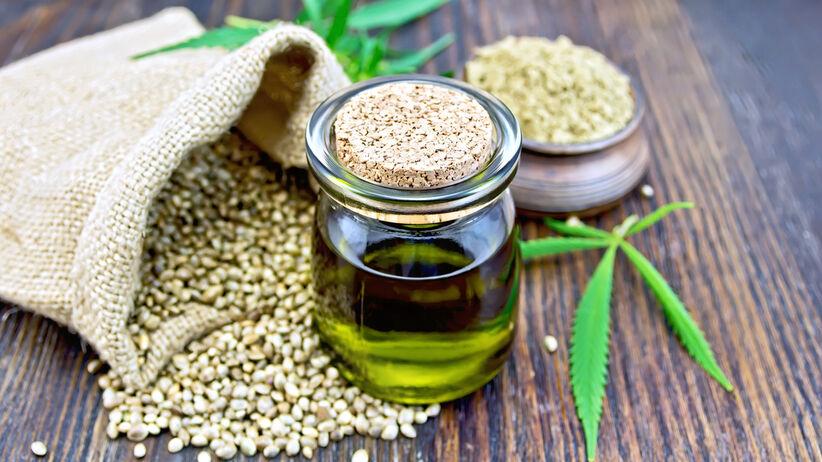 Konopie siewne: ziarno, olej konopny - właściwości