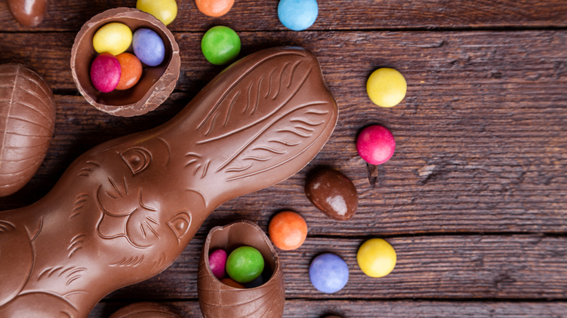 Ile cukru mają czekoladowe zające