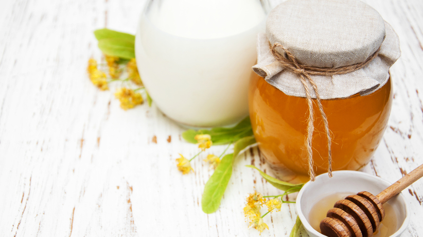 Lipa z mlekiem i kardamonem - przepis