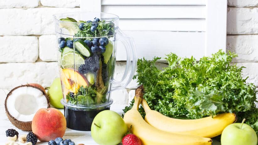 Przepisy na koktajne warzywno-owocowe