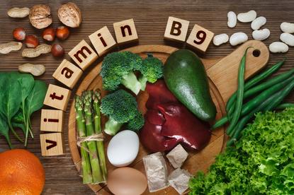 Kwas foliowy można dostarczać do organizmu za pośrednictwem pożywienia