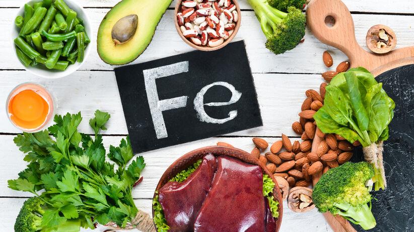 Jednym z powodów niedoboru żelaza jest niewłaściwa dieta