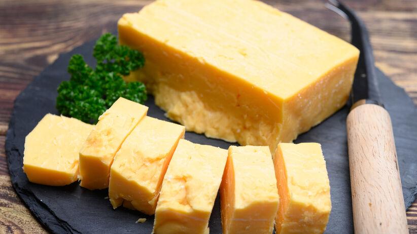 Wycofany ze sklepów ser cheddar