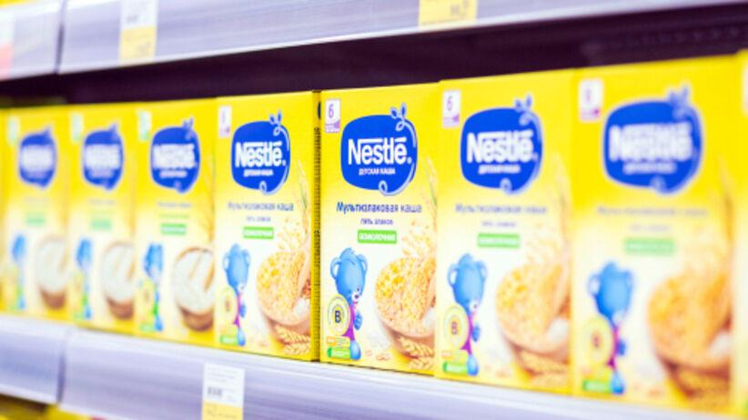 Wycofane kaszki Nestlé: ostrzeżenie GIS