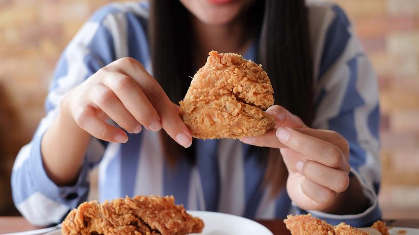Jedzenie smażonego kurczaka zwiększa ryzyko przedwczesnej śmierci