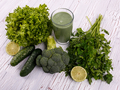 Cóctel de frutas y verduras y desintoxicación