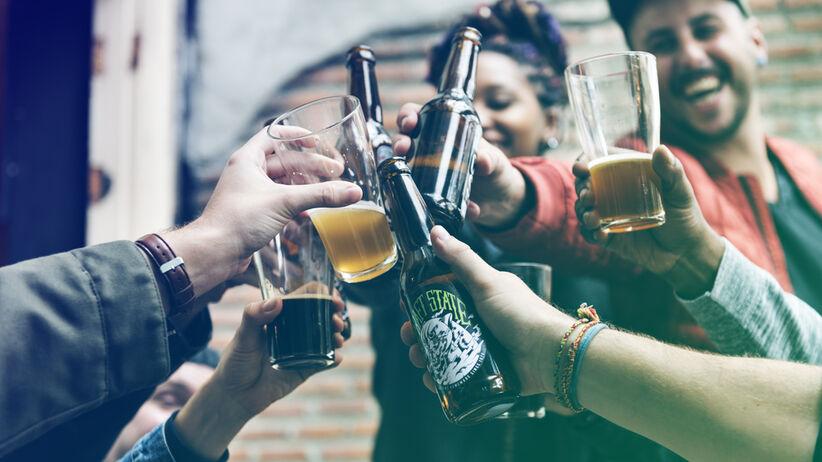 Kac to częsty skutek picia alkoholu