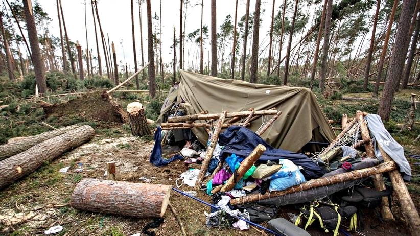 8 harcerzy z obozu w Suszku nadal przebywa w szpitalach