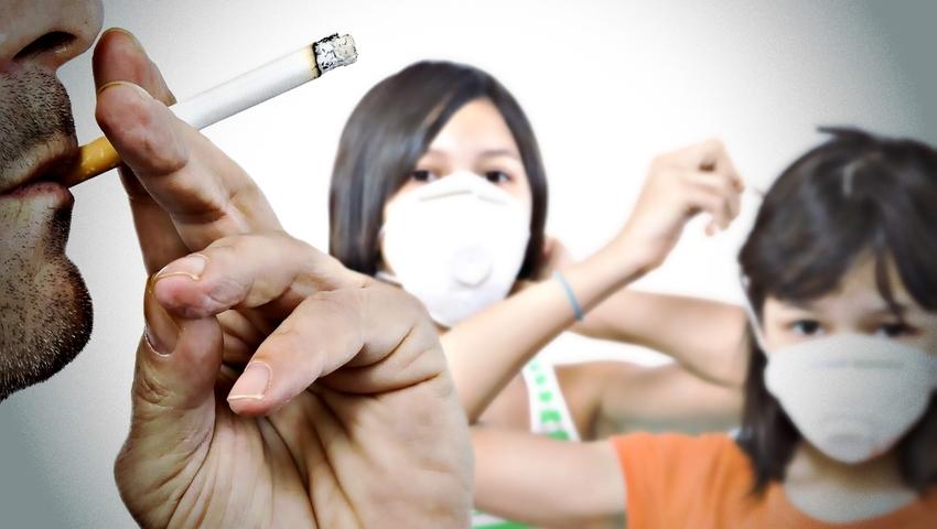 """Papierosowy dym jest toksyczny nawet po """"wsiąknięciu"""" w meble"""