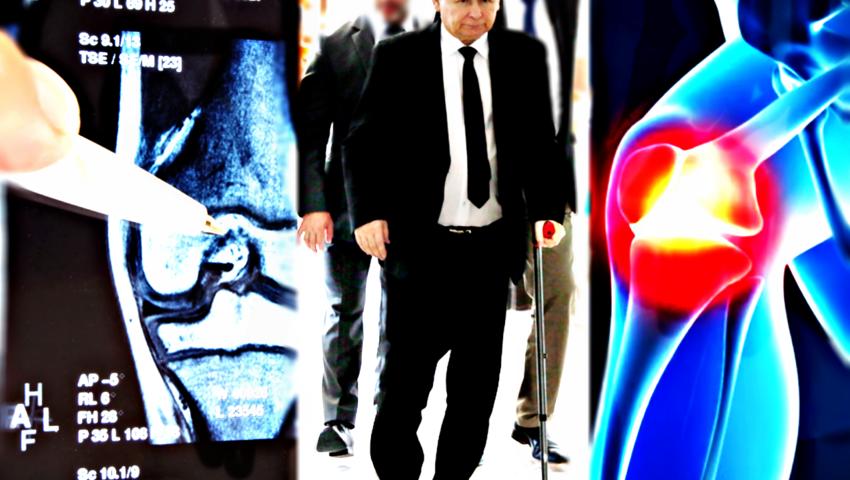 Kaczyński jeszcze w lipcu wróci do szpitala. Czeka go endoproteza kolana