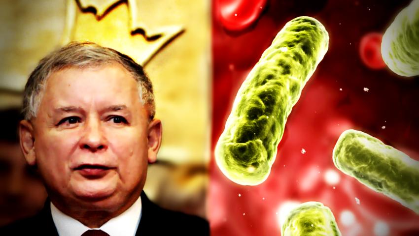 Jarosław Kaczyński opowiada o swoim zdrowiu, infekcja bakteryjna, operacja kolana
