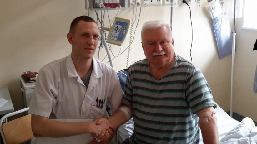 Lech Wałęsa został wypisany ze szpitala w Gdańsku