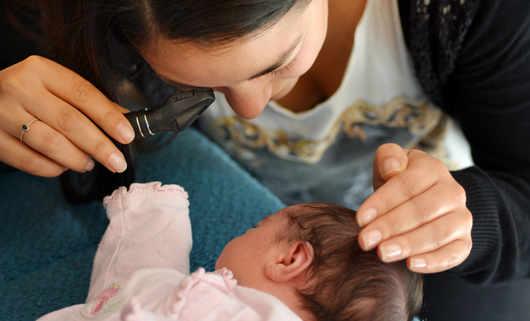 Pasożyty w oku niemowlaka - nicienie