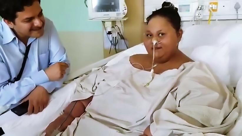330 kg mniej - najcięższa kobieta świata przeszła serię operacji