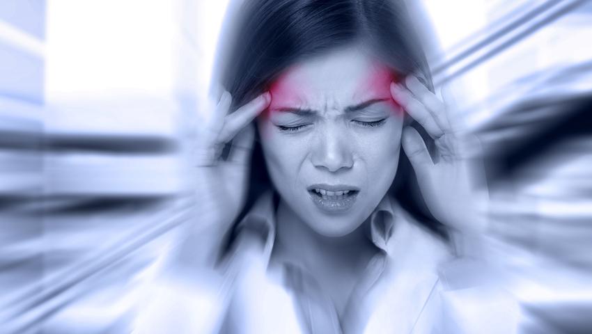 Atak migreny, nerwica lękowa